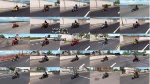 Motorcycle Traffic Pack (ATS) by Jazzycat v1.9 - Modhub.us