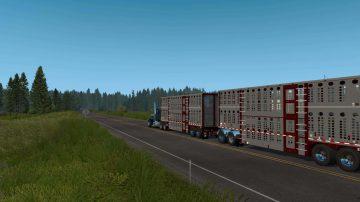 Trailer Livestock 1 35 Mod ATS - American Truck Simulator