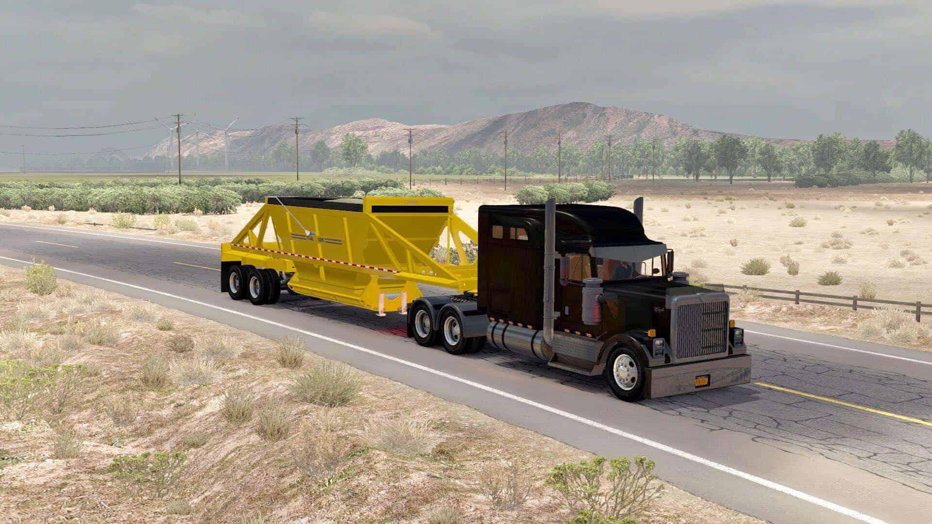 Trailking Belly Dump v2 0 1 35 x Mod ATS - American Truck